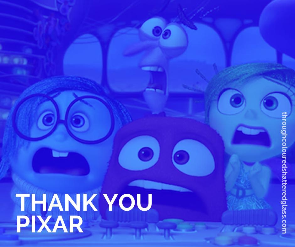 Thankyou Pixar