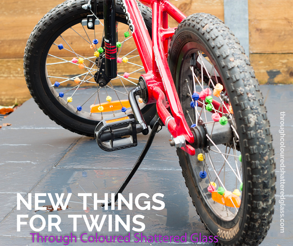 New things for twins