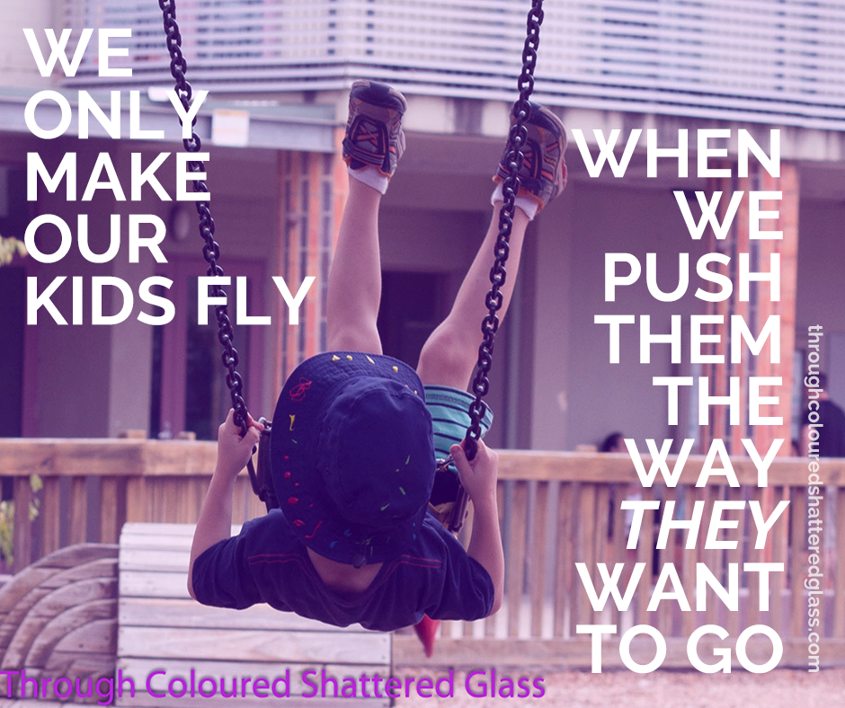 Letting kids fly by following their flow.